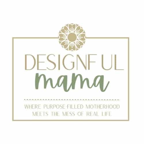 Designful Mama logo - Crystal Hackl