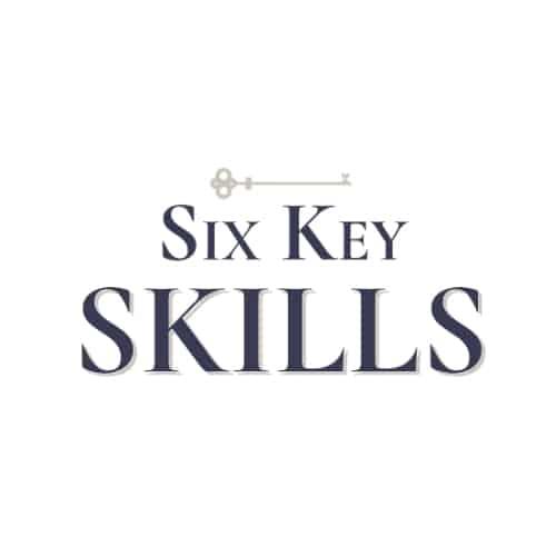 Six Key Skills logo - Liz Bayardelle
