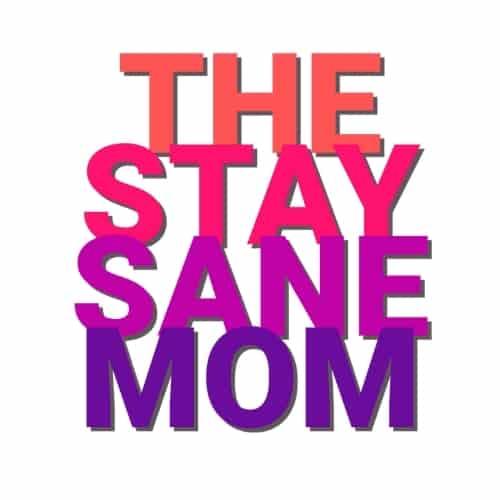 The Stay Sane Mom logo - Liz Bayardelle